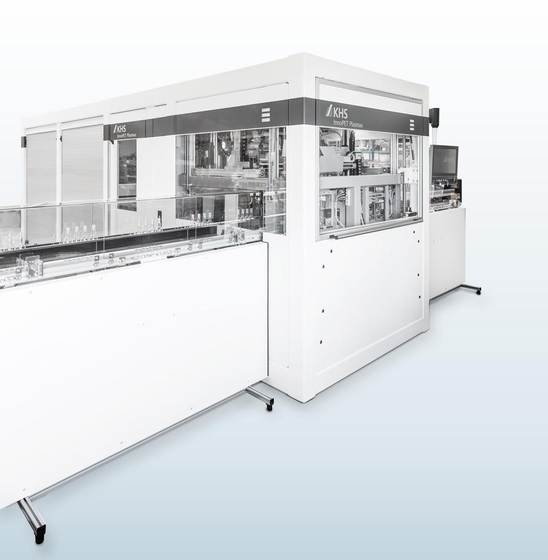 With an output of up to 1,800 containers per hour the InnoPET Plasmax 2Q is especially suitable for converters and smaller bottling plants.