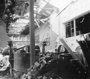 More than two thirds of the Seitz plant were destroyed in a heavy air raid in January 1945.