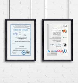 The Butsifal Group attaches great importance to high standards of quality and has been successfully certified according to ISO 22000:2009 and FSSC 22000 with regard to food safety at its plant.