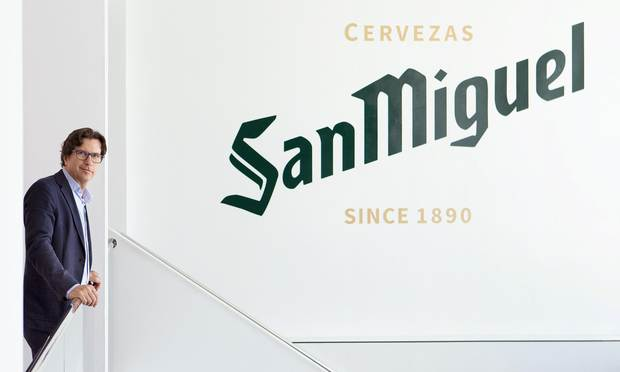 Javier Carballo Operations development director at Mahou San Miguel
