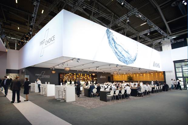4,200 square meters: KHS had the second largest exhibition booth at drinktec.