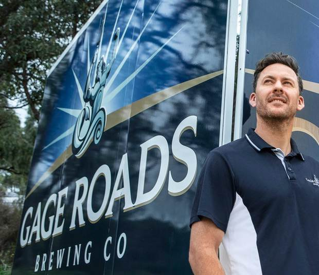 Aaron Heary, COO Gage Roads ­Brewing Company