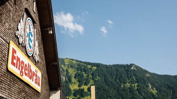 Engelbräu in Rettenberg: three centuries of brewing tradition at the foot of Grünten Mountain in the Allgäu.