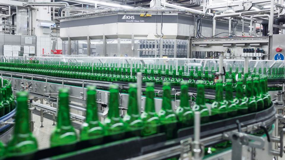 Often it's not the machines which are the problem but the conveyor systems where every downed bottle has the potential to shut the machine down.
