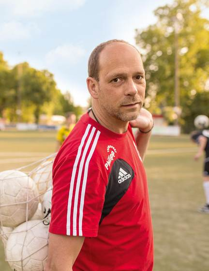 Detlef Hirse, Industrial mechanic, youth soccer coach and part of KHS for eight years.